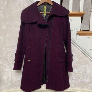 Soia & Kyo wool trench coat size XS